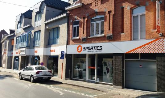 Sportics vernieuwde winkel