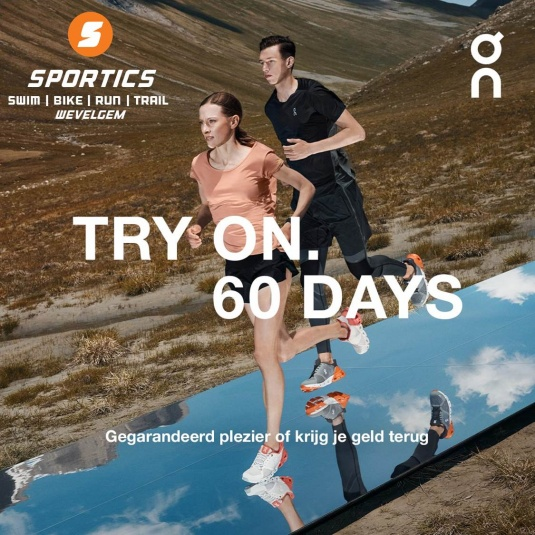 Try On | 60 days @ SPORTICS